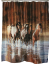 Horses Shower Curtain (SKU: 768 Rush Hour)