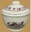 Rodeo Sugar Bowl with Lid (SKU: RD09)