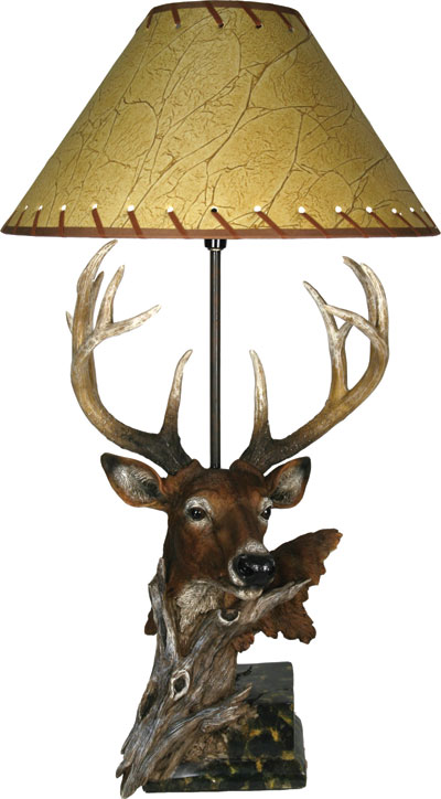 Designer Deer Table Lamp