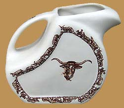 Longhorn Water / Ice Tea Pitcher