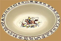 Rodeo Oval Serving Bowl