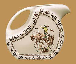 Rodeo Water/Ice Tea Pitcher