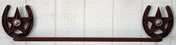 Towel Bar with Concho 18""