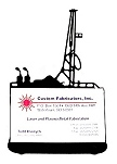 Oil Rig Business Card Holder