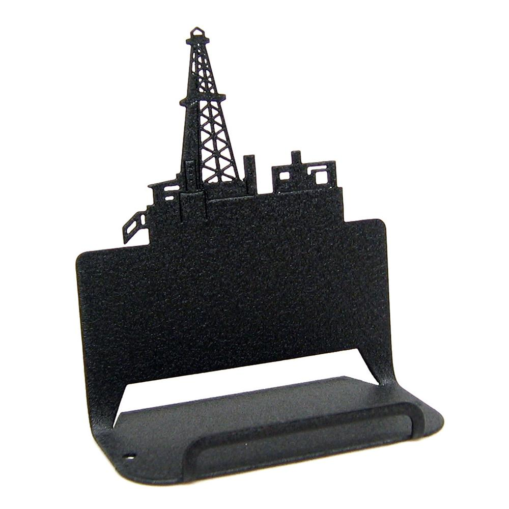 Oil Derrick Business Card Holder