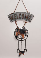 Hanging Welcome Sign