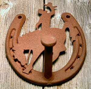 Robe Hook (Bronc Collection)