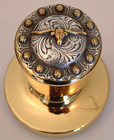 Steer Berry -Gold Knob (Non- lockable) Door Knob
