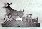 Deer Candle Dish
