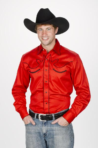 Men's Retro Western Shirt