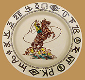 Rodeo Lunch Plate
