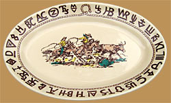 Rodeo Large Oval Serving Platter
