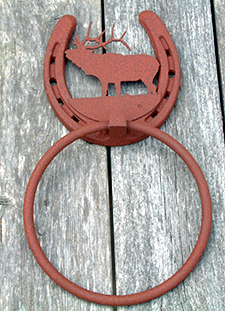 ELK- Towel Ring (Lodge Collection)
