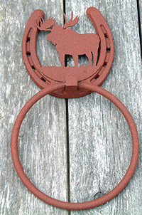 Moose Towel Ring  (Lodge Collection)