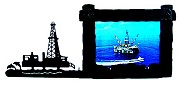 Offshore Oil Rig Picture Frame