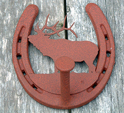 ELK-Robe Hook (Lodge Collection)