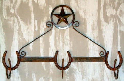 Lone Star Hat and Coat Rack