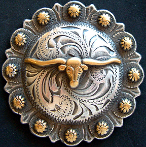 Steer Berry - Antique Brass & Silver (Drawer Pulls)