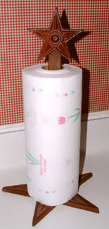 Standing Paper Towel Holder
