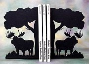 Moose Bookends