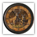 "15"" Buck & Doe Clock"