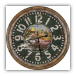 "26"" Distressed Fishing Clock"
