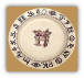Boots & Saddle Lunch Plate