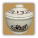 Rodeo Sugar Bowl with Lid