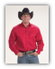 Mens Western Shirt Red 800