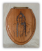 """I Smell White Man!!!"" Chief Sitting Bull Toilet Seat (SKU: Chief Sitting Bull)"