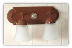 "Goose Neck Vanity  Light   14"" Two Lights (Star Berry)"