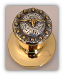 Steer Berry - Gold Knob- (Lockable) Door Knob (SKU: KBL-798-G)