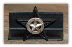 Star Concho Business Card Holder (Star w/Berries) (SKU: 1206-A-1)