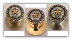 Star Berry - Gold Knob-(Door Knob) (Non-Lockable)