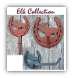 ELK-Toilet Paper Holder (Lodge Collection) (SKU: 1243-ELK-L)